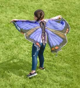 Realistic Fabric Butterfly Wings