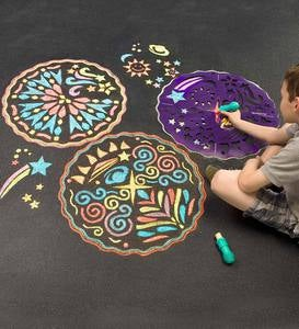 ChalkScapes® Mandalas - Butterfly