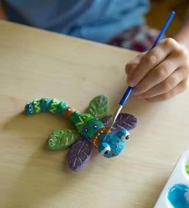 Color Pops Paint-Your-Own Rocks: Ladybugs & Dragonflies