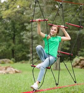 Deluxe Ninjaline™ Backyard Obstacle Course Kit Developed with Ninjas