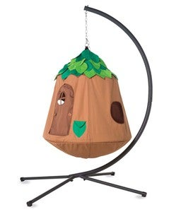 Woodland HugglePod HangOut Special with Hanging Tent, LED Leaf Lights, and Stand