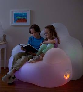 Light-Up Inflatable Aurora Chair