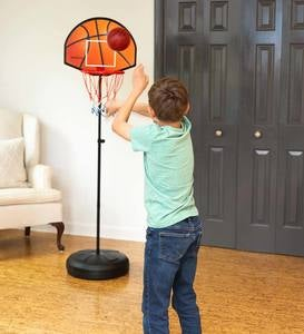 2-in-1 Basketball and Magnetic Dart Game