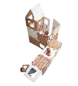 32-Piece Brick Fantasy Fort