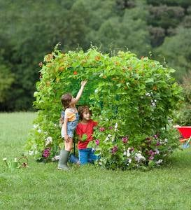 Grow with Me Garden Fort Structure, Includes Seeds