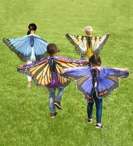 "Realistic Easy Fit Fabric Butterfly Wings-46""W"