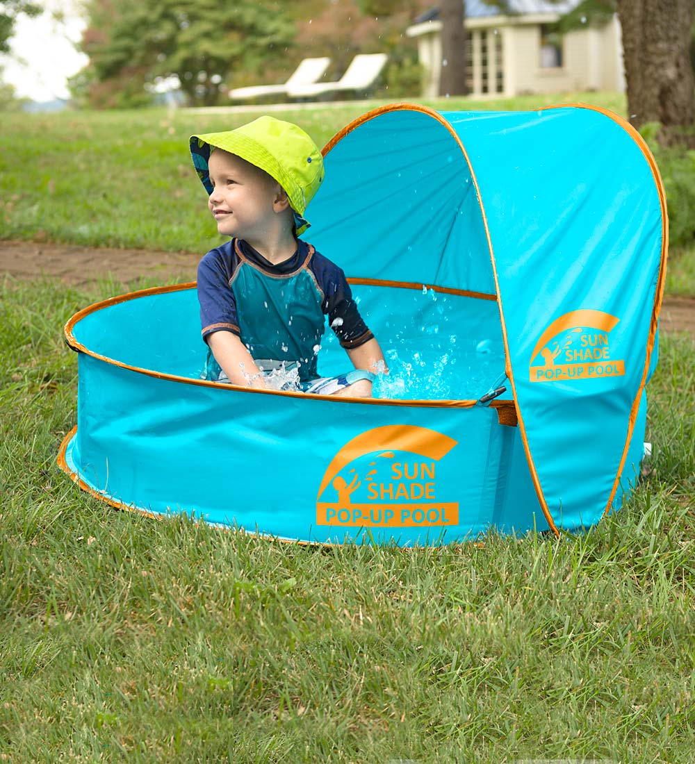 SunShade Pop-Up Pool