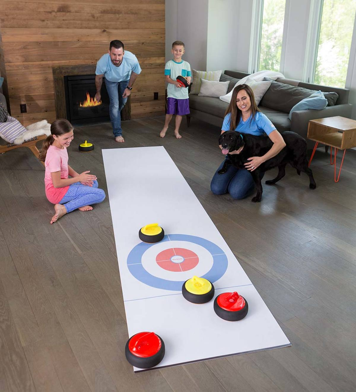 Curling Zone Indoor Game | HearthSong Exclusives | Narrow By | HearthSong