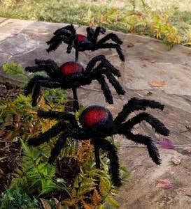 Light Up Red Glow Spider Stakes