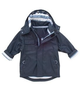 Splash Jacket for Boys - Blue - Size 6