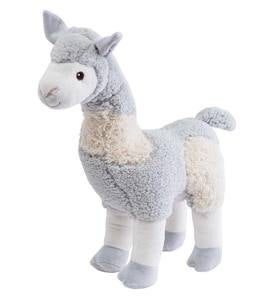 "20"" Plush Alpaca with Removable Scarf"
