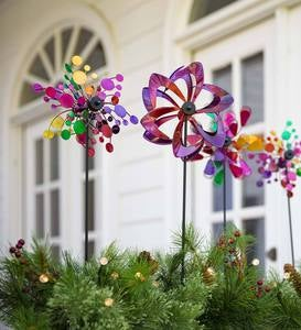 Mini Garden Pinwheels (set of 3)