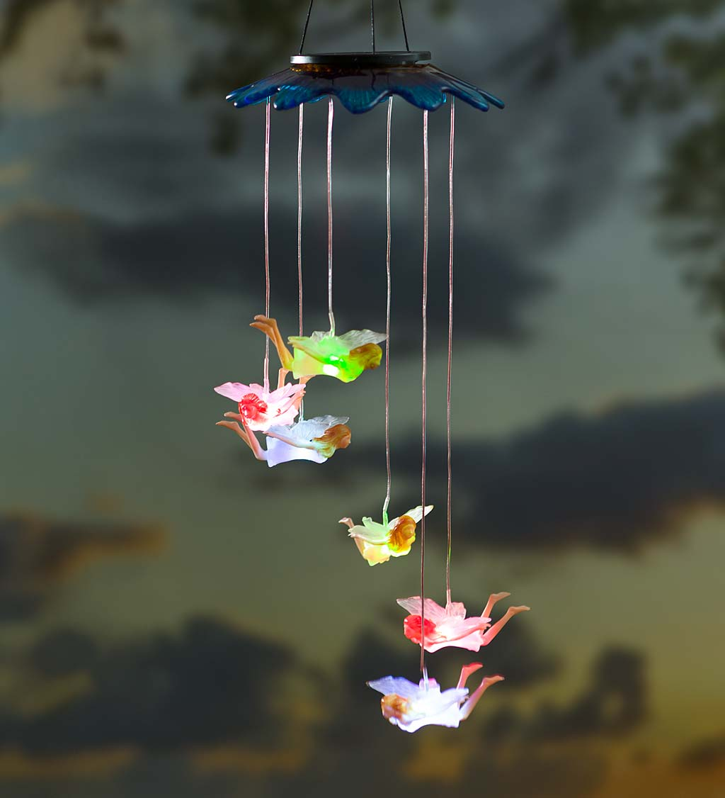 Solar Color-Changing Mobiles