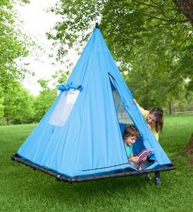 Hanging Sky Tent Platform Swing and Play Tent