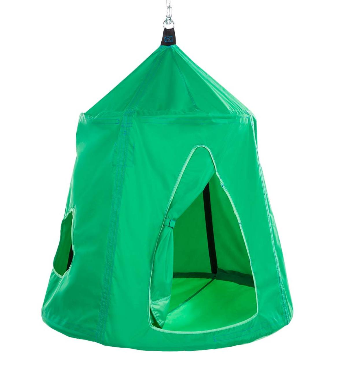 Go! HangOut HugglePod Hanging Tent with LED Lights - Spring Green