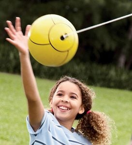 Deluxe Backyard Tetherball Game