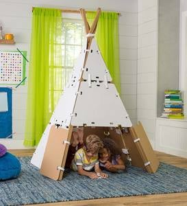 Build-A-Fort Kit Construction Play Space