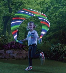 Kinetic-Powered LED Sparkler Jump Rope