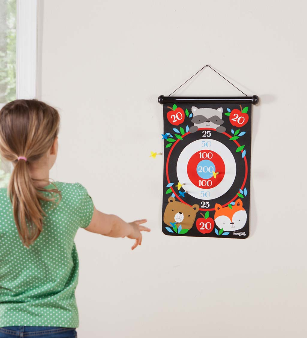 Double-Sided Magnetic Canvas Target Game - Butterfly