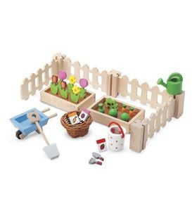 My Little Garden Wooden Play Set