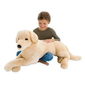 Big-as-Life Plush Dogs