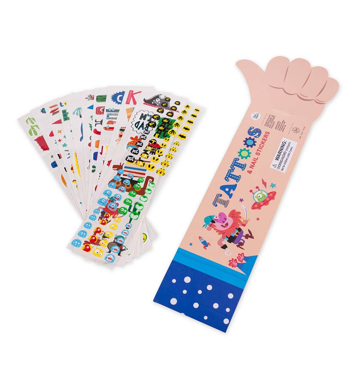 Temporary Tattoos&Stickers (Boys Style)