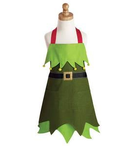Child's Elf Apron