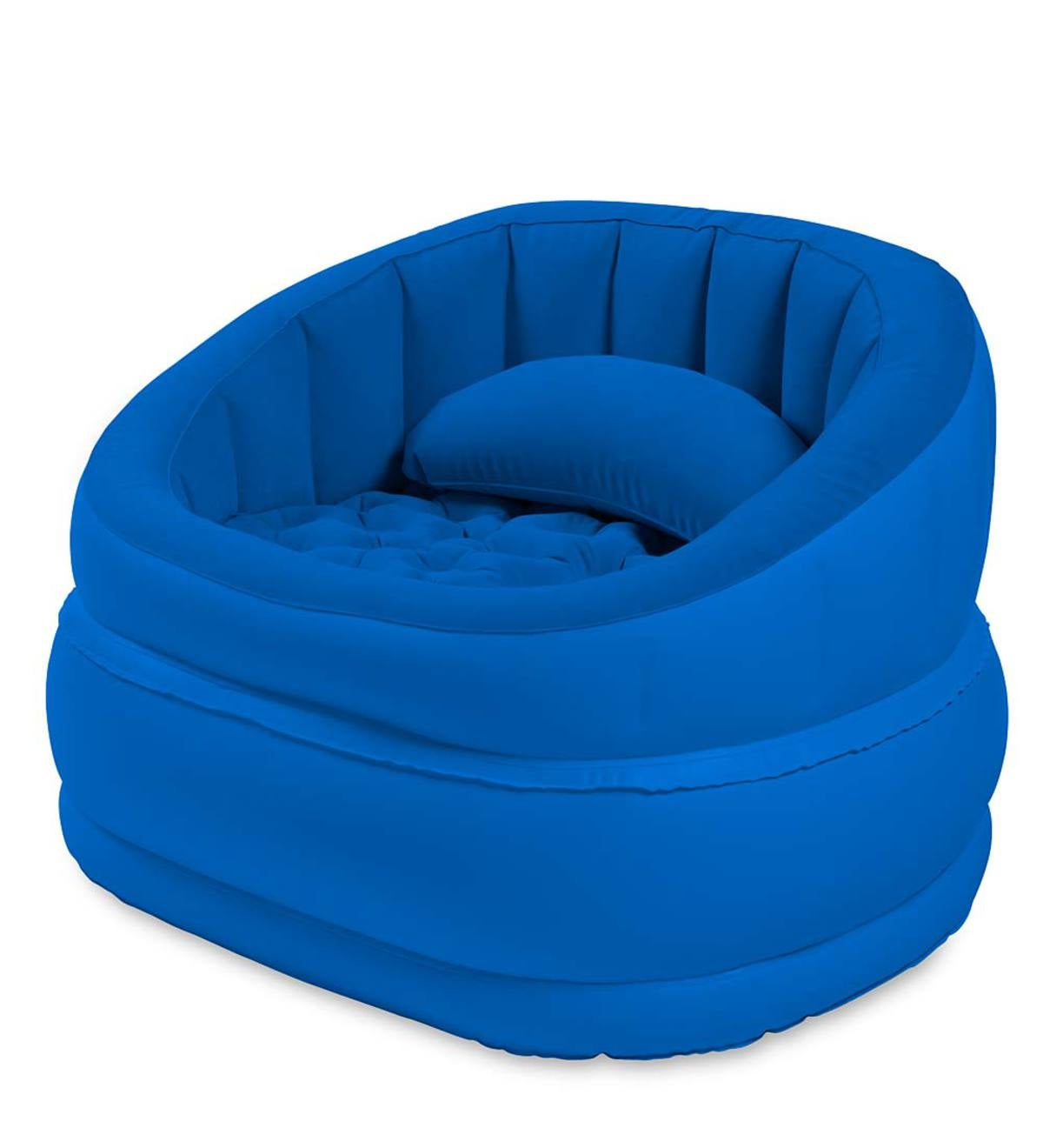 Inflatable Cafe Chair - Dark Blue