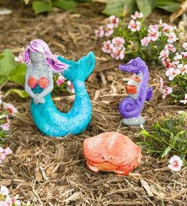 Color Pops® Paint-Your-Own Rock Pets: Mermaid and Friends