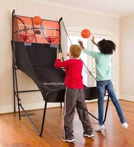 Double Free-Throw Basketball Challenge Game