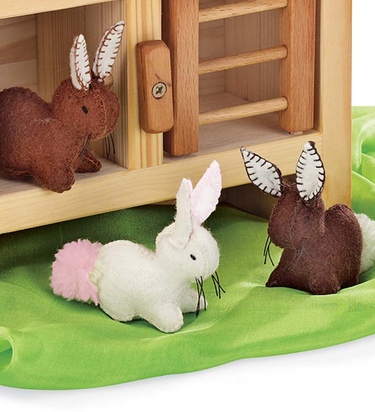 Felt Bunnies (set of 3)