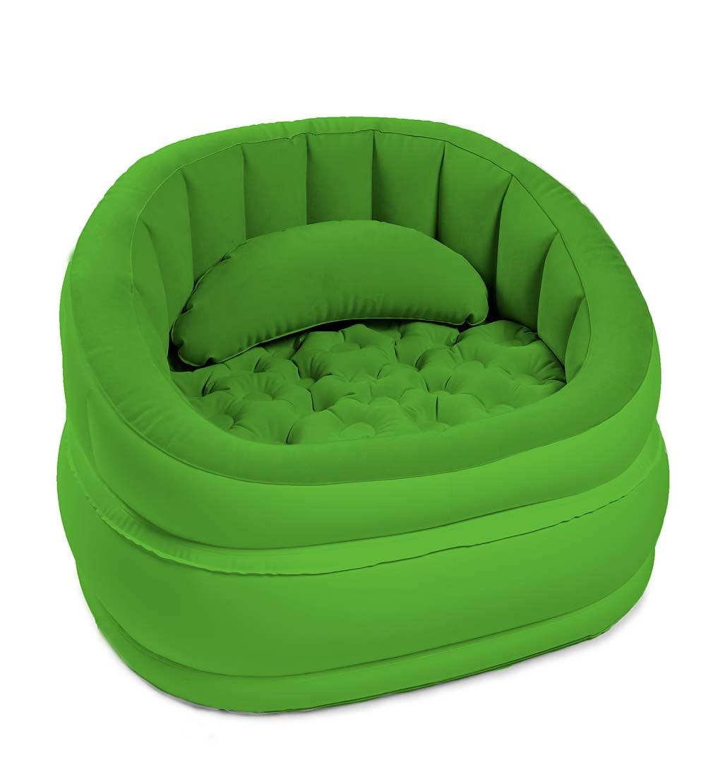 Best Picture Plush Inflatable Cafe Chair