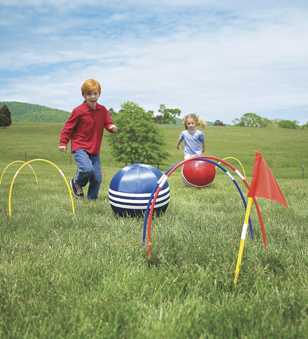 Kick Croquet Kids' Outdoor Game
