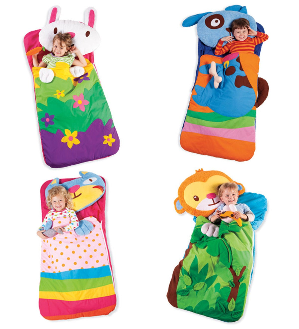 Sillies Sleeping Bag with Plush Pillow