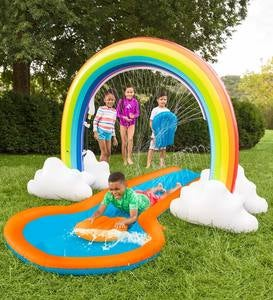 Giant Inflatable Rainbow Arch Sprinkler
