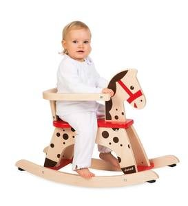 Caramel the Rocking Horse