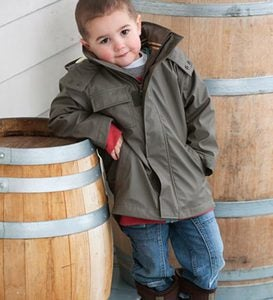 Splash Jacket for Boys - Green - Size 5