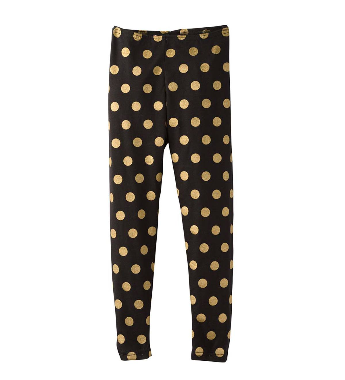 Gold Dot Leggings