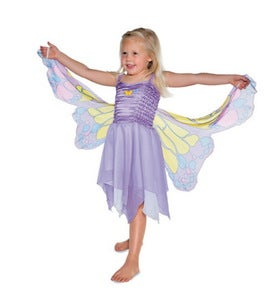 Butterfly Dress - Pink - Small (3-4 years old)