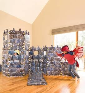 32-Piece Castle Build-A-Fort Kit