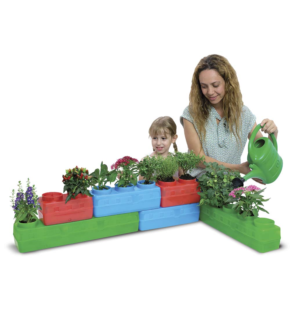 Garden Blocks, Set of 3