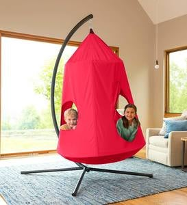 HugglePod® HangOut Hanging Chair - Purple