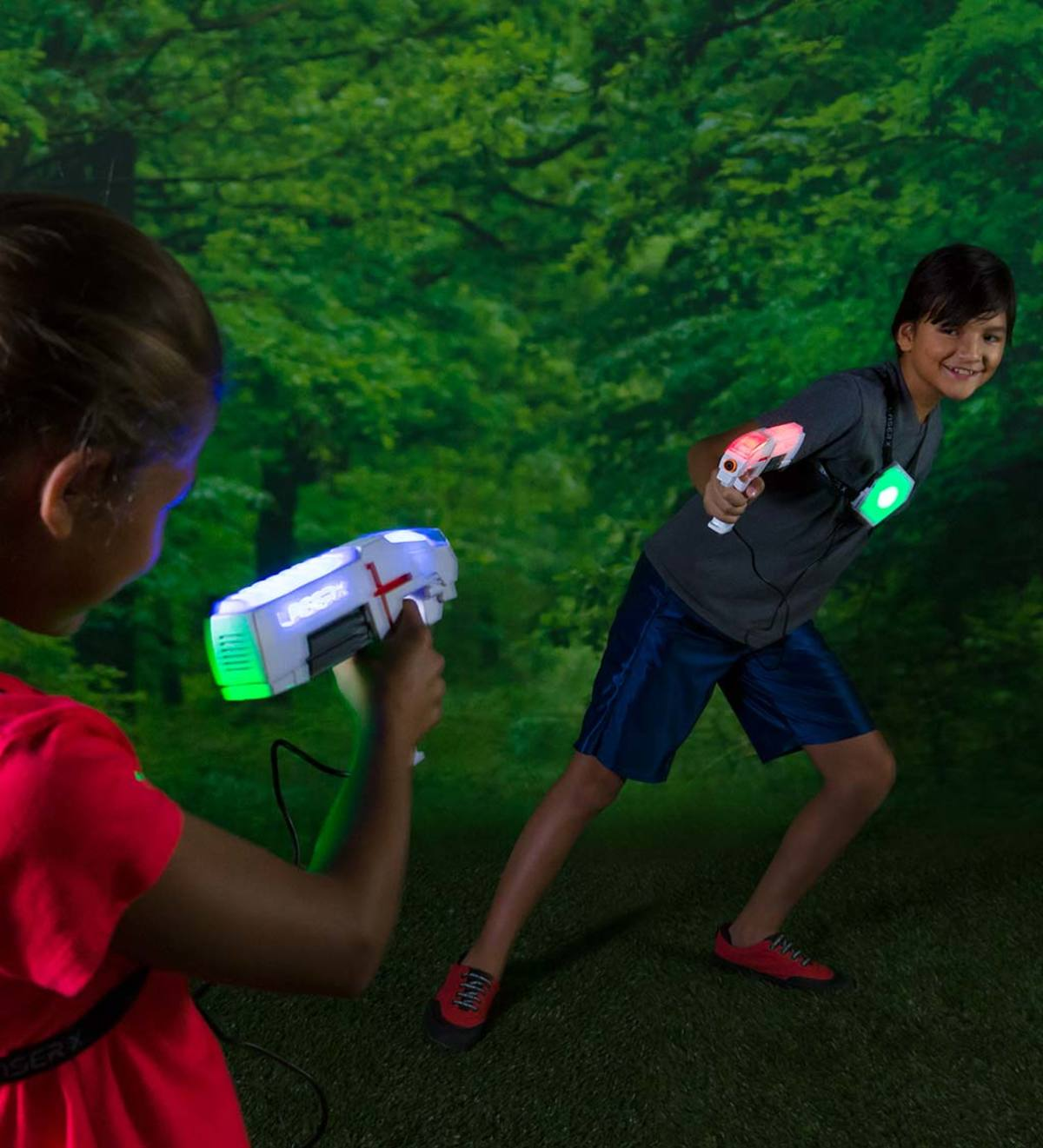 Two-Player Laser Tag Set