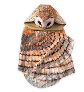Hooded Realistic Owl Wings