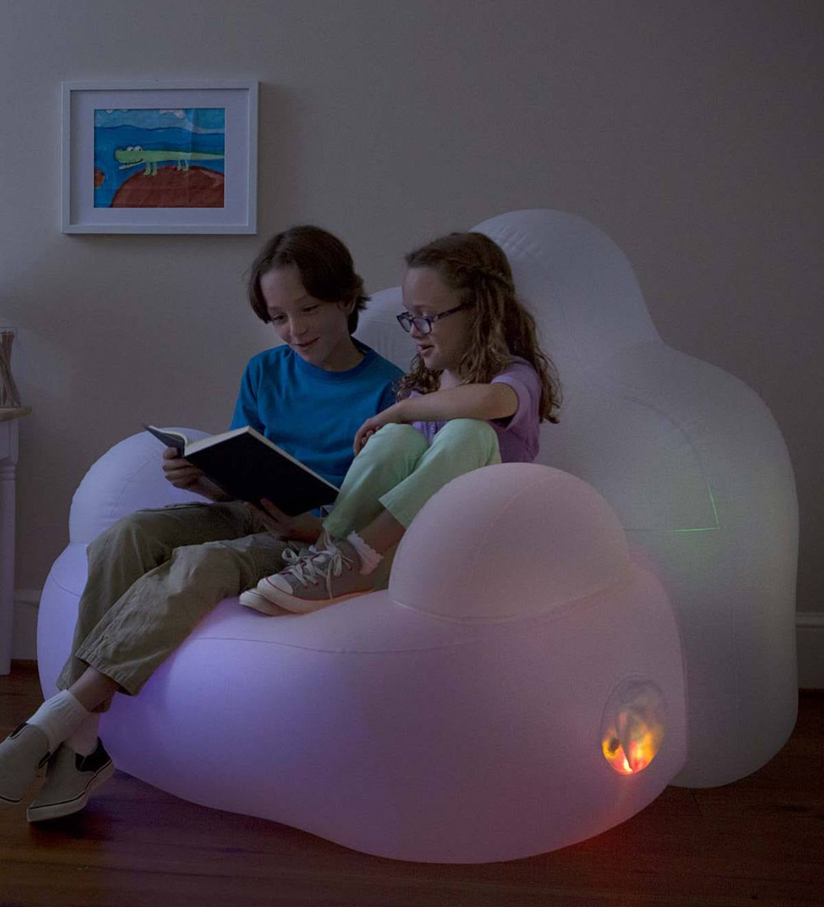Light-Up Inflatable Chair