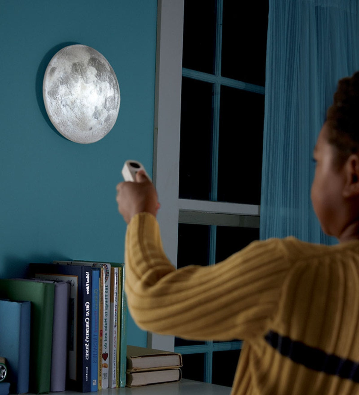Battery Powered Moon In My RoomTM With Remote Control