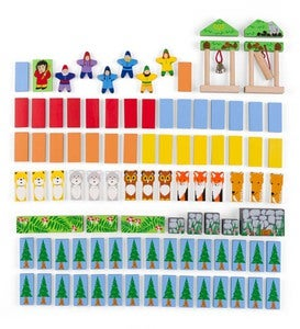 Forest Friends Dominoes Set