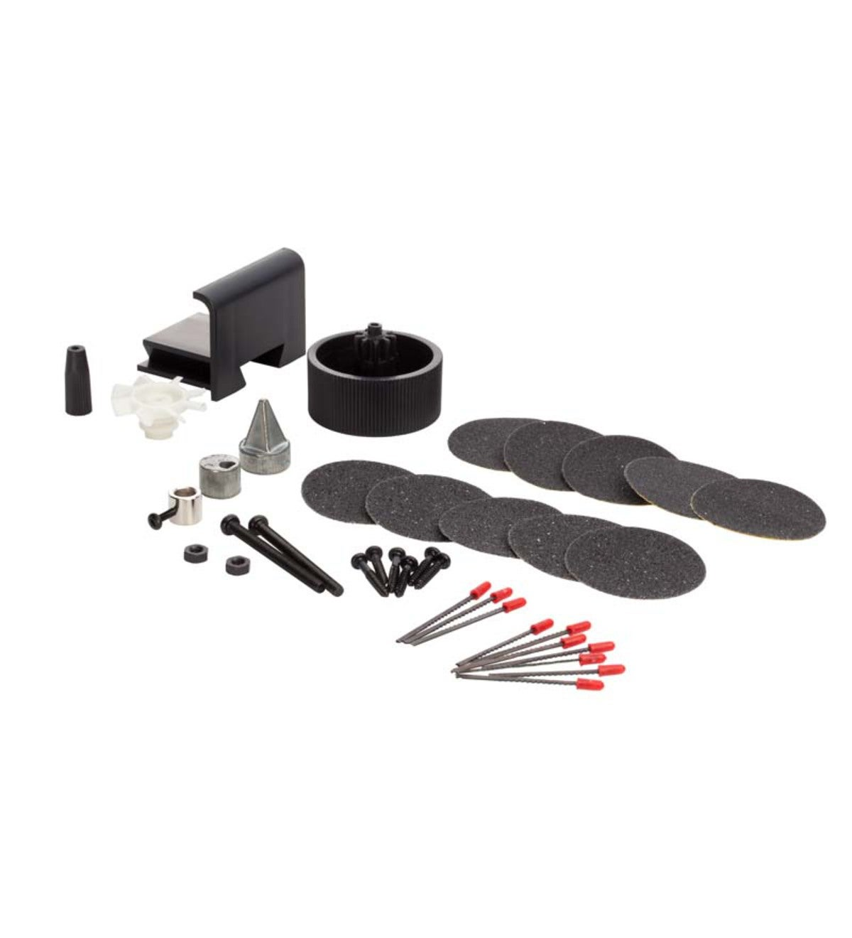 Service Set with Extra Blades, Sanding Disks and Tool Parts