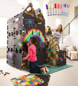 32-Piece Full Chalkboard Fantasy Fort™ Super Special