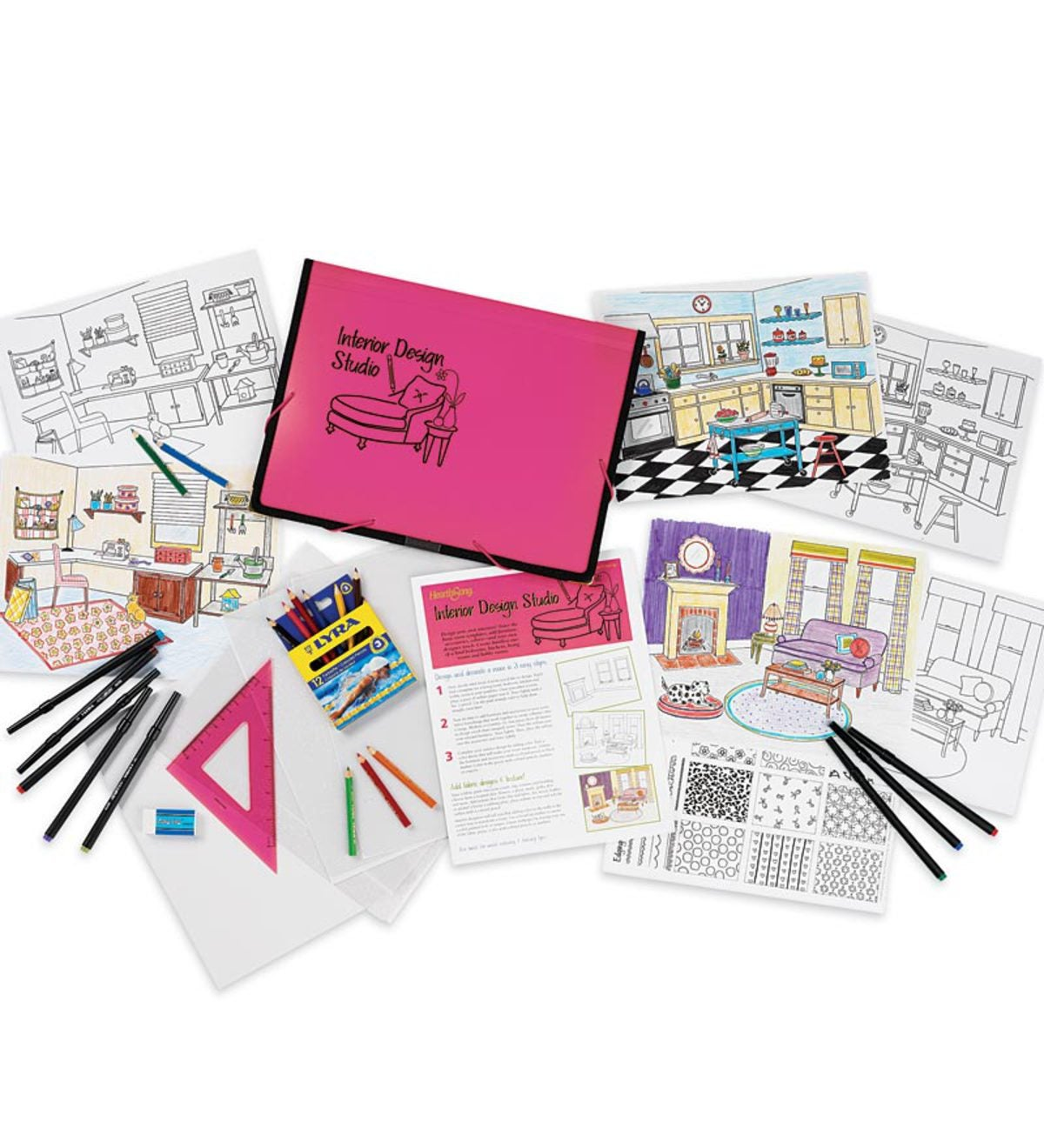 Interior Design Studio Kit with Add-On Kits Special